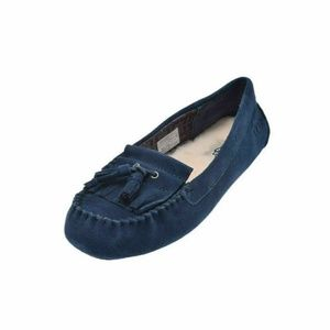 UGG Womens Lizzy Shearlin Slippers Navy NEW IN BOX
